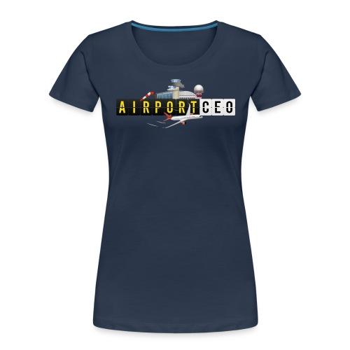 The Airport CEO - Women's Premium Organic T-Shirt
