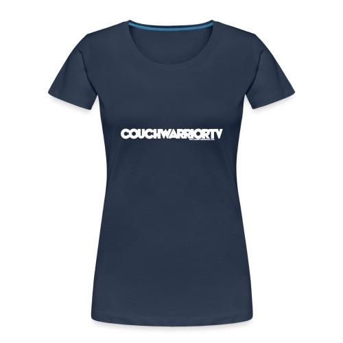 COUCHWARRIORTV Logo Gear - Women's Premium Organic T-Shirt