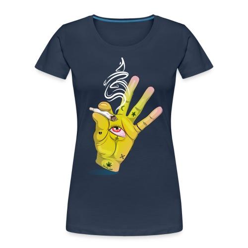 Khalwi High Khamsa - Women's Premium Organic T-Shirt