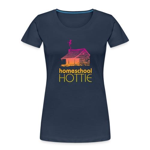 Homeschool Hottie PY - Women's Premium Organic T-Shirt