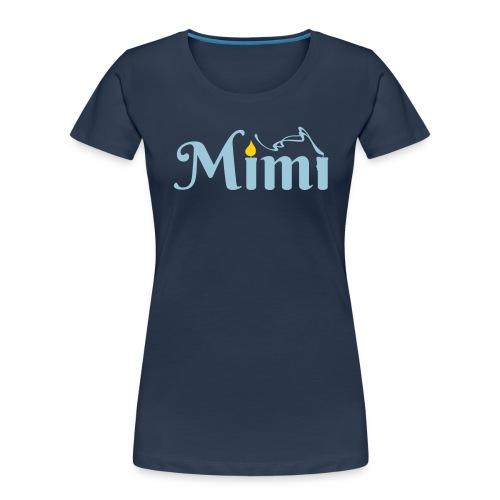 La bohème: Mimì candles - Women's Premium Organic T-Shirt