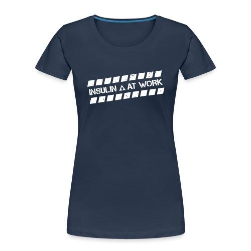 Insulin At Work - Women's Premium Organic T-Shirt