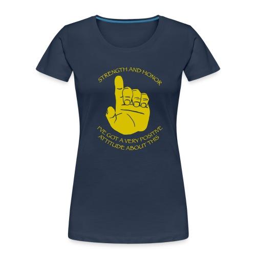 Positive Attitude - Women's Premium Organic T-Shirt