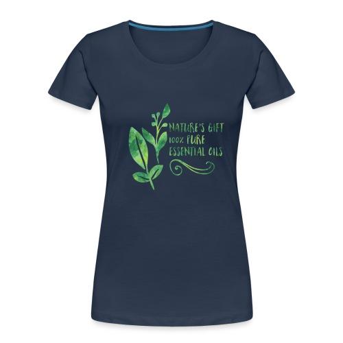 nature's gift essential oils - Women's Premium Organic T-Shirt