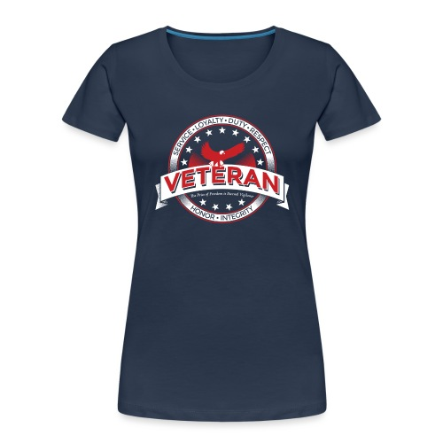 Veteran Soldier Military - Women's Premium Organic T-Shirt