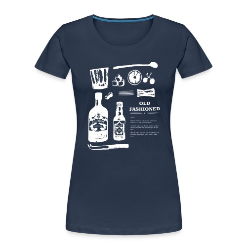 Old Fashioned - Women's Premium Organic T-Shirt