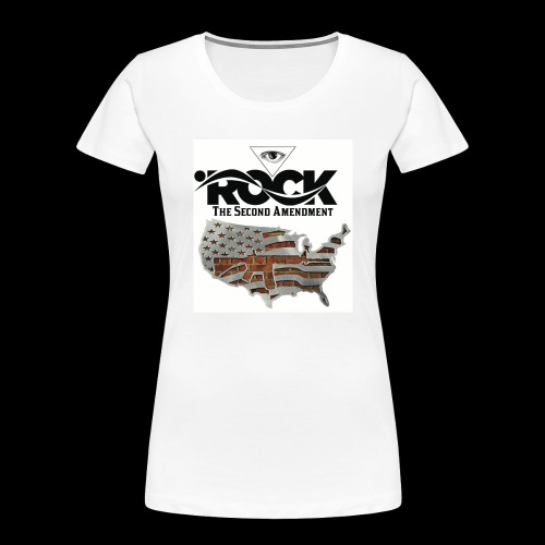 Eye Rock the 2nd design - Women's Premium Organic T-Shirt