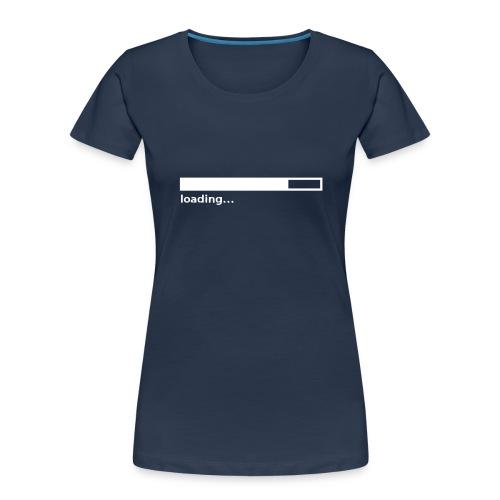 loading - Women's Premium Organic T-Shirt