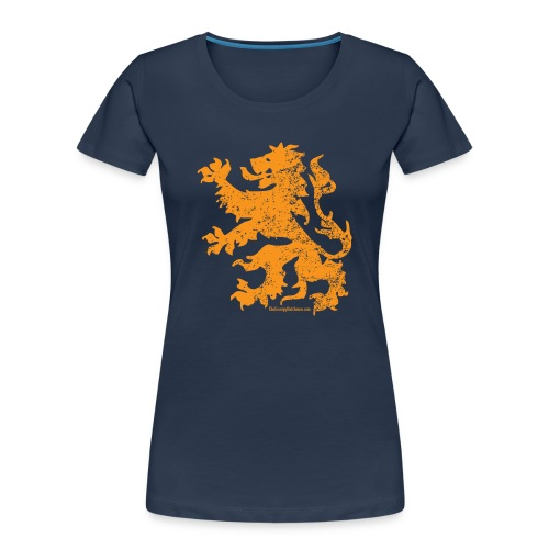 Dutch Lion - Women's Premium Organic T-Shirt