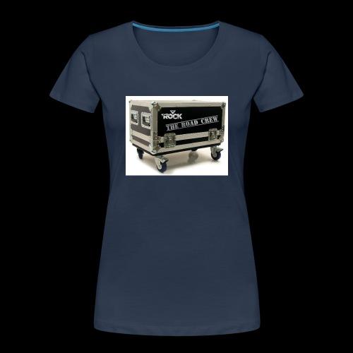 Eye rock road crew Design - Women's Premium Organic T-Shirt