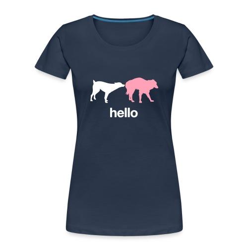 Hello - Women's Premium Organic T-Shirt