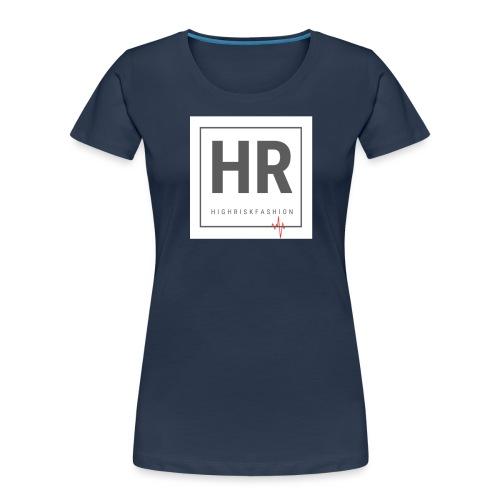 HR - HighRiskFashion Logo Shirt - Women's Premium Organic T-Shirt