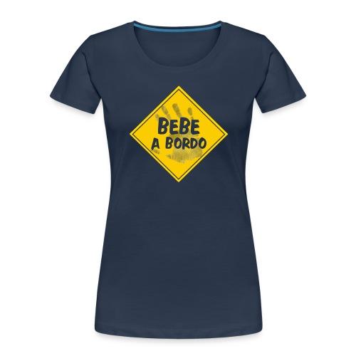 BABY ON BOARD - Women's Premium Organic T-Shirt