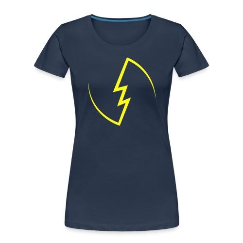 Electric Spark - Women's Premium Organic T-Shirt