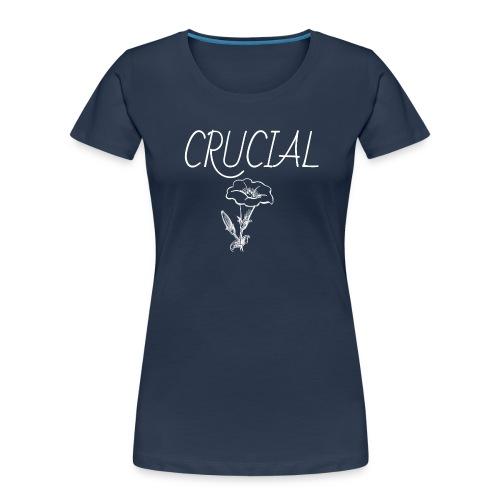 Crucial Abstract Design - Women's Premium Organic T-Shirt