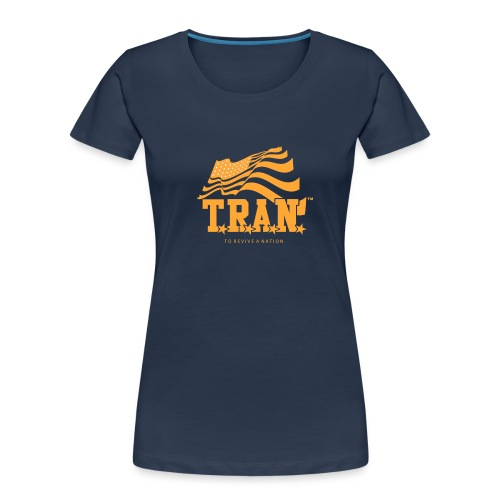 TRAN Gold Club - Women's Premium Organic T-Shirt
