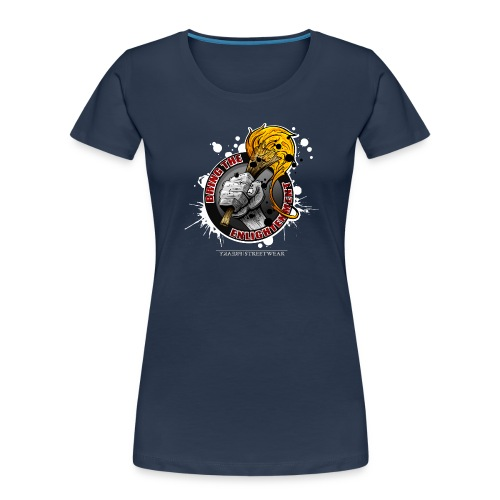 bring the enlightment - Women's Premium Organic T-Shirt
