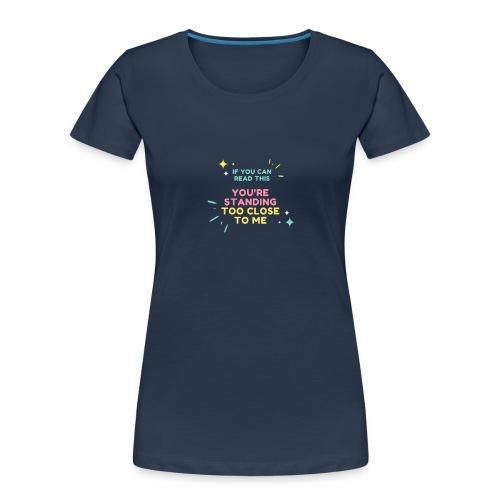 Fight Corona - Women's Premium Organic T-Shirt