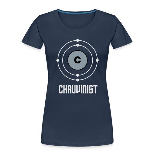 Carbon Chauvinist Electron - Women's Premium Organic T-Shirt