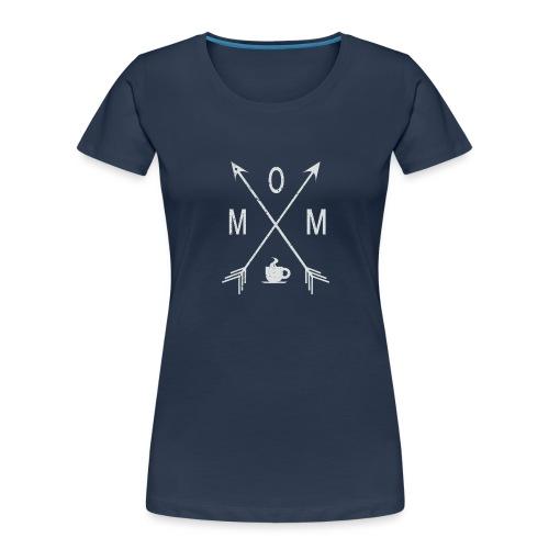 Mom Loves Coffee - Women's Premium Organic T-Shirt