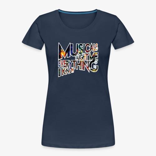 MTMEIK Broadway - Women's Premium Organic T-Shirt