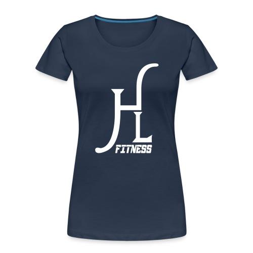 HLF Vector WHT - Women's Premium Organic T-Shirt