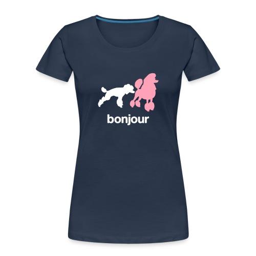 Bonjour - Women's Premium Organic T-Shirt