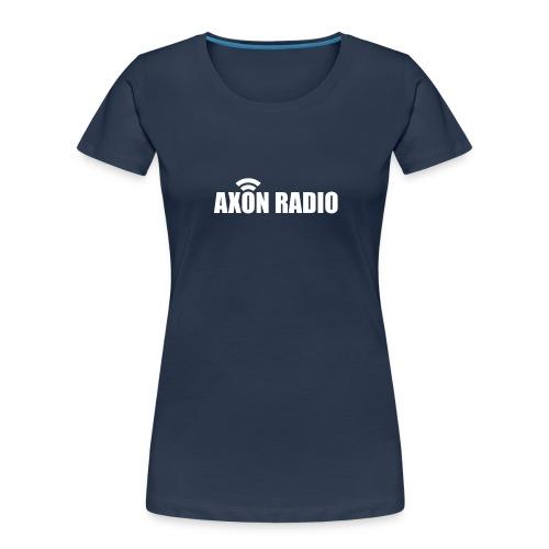 Axon Radio | White night apparel. - Women's Premium Organic T-Shirt