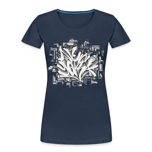Kostya - NYG Design - REQUIRES WHITE SHIRT COLOR - Women's Premium Organic T-Shirt