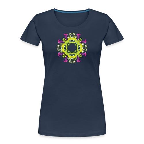 Three-eyed dragon going through odd metamorphosis - Women's Premium Organic T-Shirt