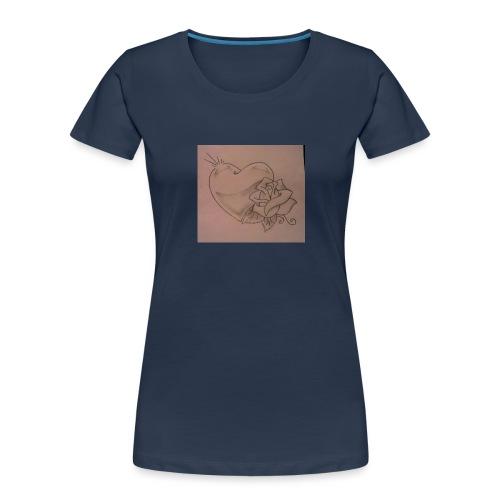 Love - Women's Premium Organic T-Shirt