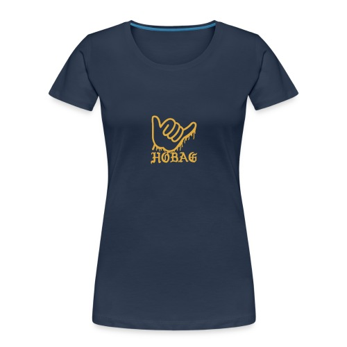 HOBAG LOGO - SHAKA LOGO - Women's Premium Organic T-Shirt