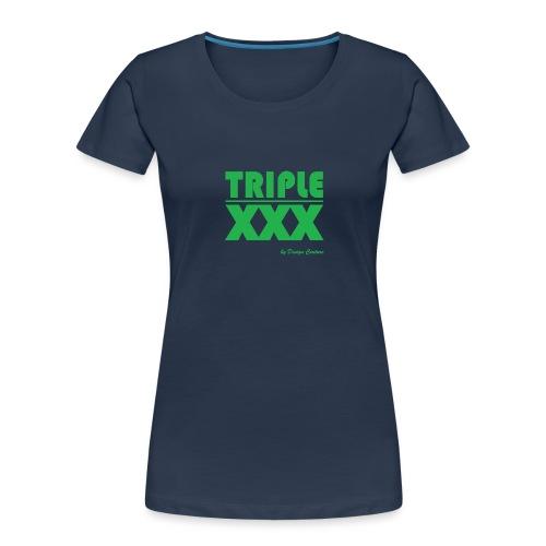 XXX GREEN - Women's Premium Organic T-Shirt