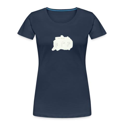 Bad Habits - Women's Premium Organic T-Shirt