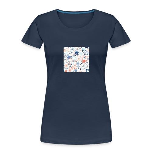 flowers - Women's Premium Organic T-Shirt