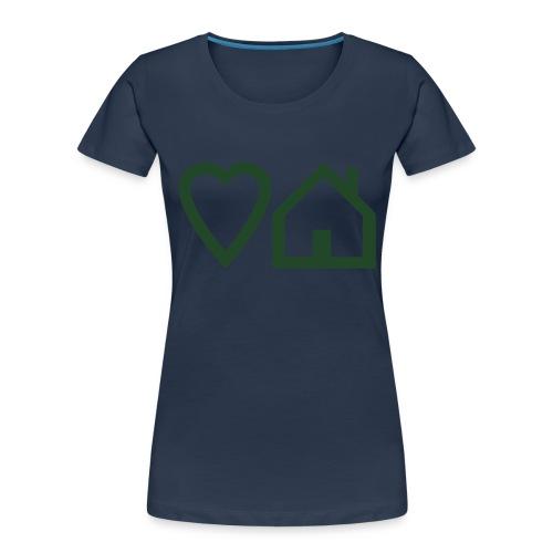 ts-3-love-house-music - Women's Premium Organic T-Shirt