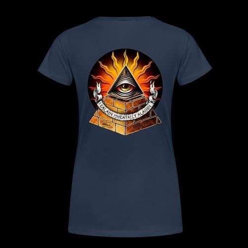 WHAT? THIS? IT'S FREE BY JOINING THE ILLUMINATI! - Women's Premium Organic T-Shirt