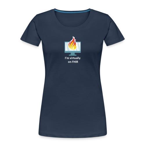 HL7 FHIR DevDays 2020 - Desktop - Women's Premium Organic T-Shirt
