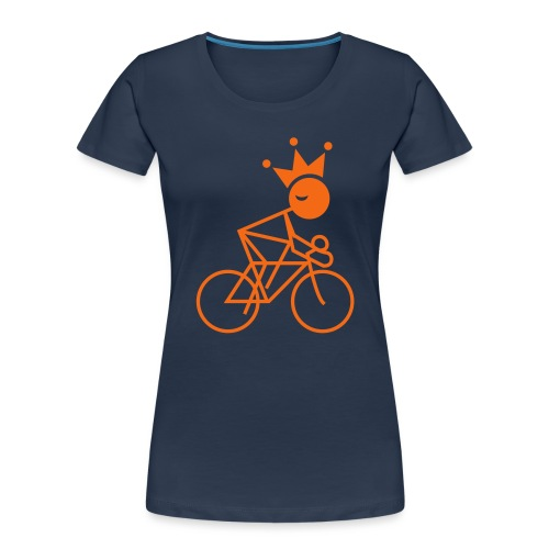 Winky Cycling King - Women's Premium Organic T-Shirt