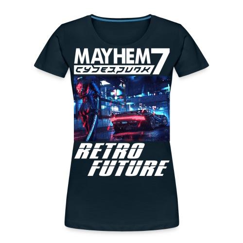 M7 Cyberpunk - Women's Premium Organic T-Shirt