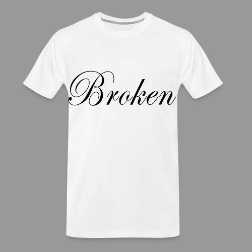 Broken - Men's Premium Organic T-Shirt