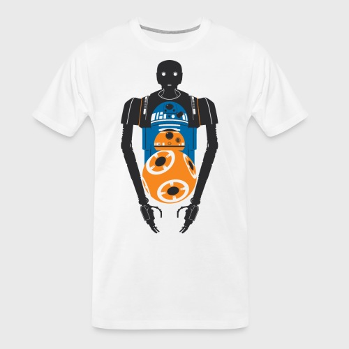 Star Wars Rogue One The Droids You're Looking For - Men's Premium Organic T-Shirt