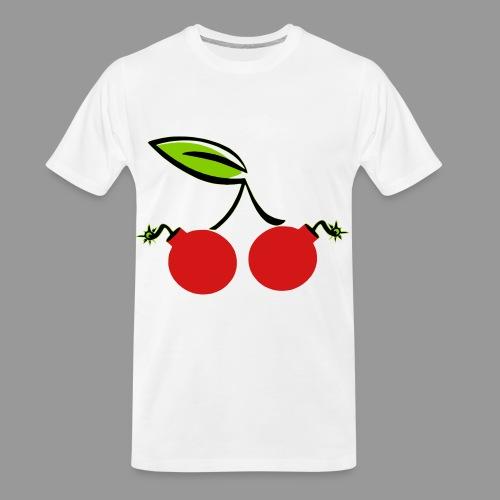 Cherry Bomb - Men's Premium Organic T-Shirt