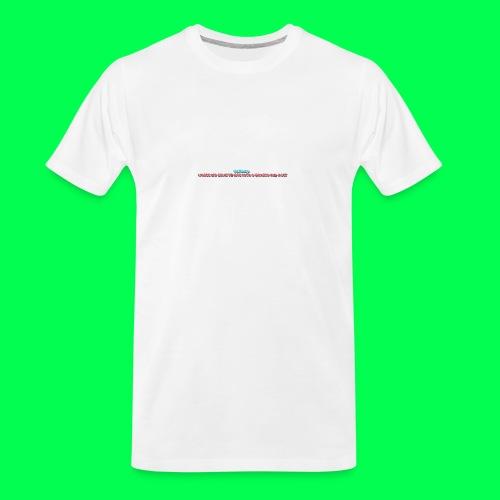 my original quote - Men's Premium Organic T-Shirt