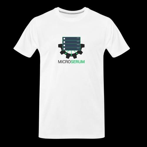 microserum 3 - Men's Premium Organic T-Shirt