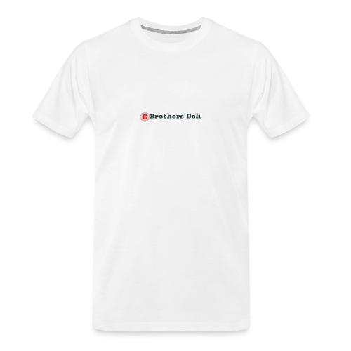 6 Brothers Deli - Men's Premium Organic T-Shirt
