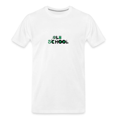 Old School Music - Men's Premium Organic T-Shirt