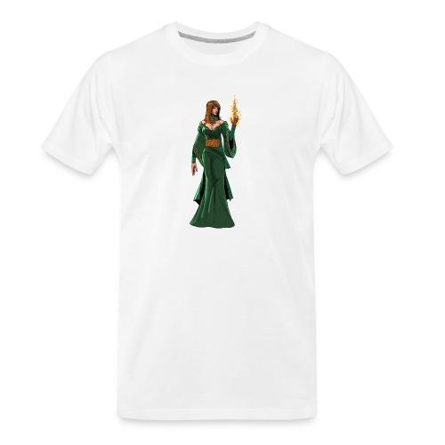 lyssa2 png - Men's Premium Organic T-Shirt