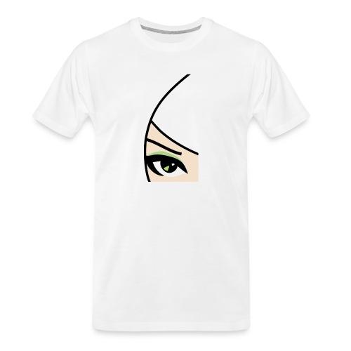 Banzai Chicks Single Eye Women's T-shirt - Men's Premium Organic T-Shirt