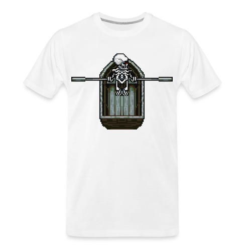 Ghost boat - Men's Premium Organic T-Shirt